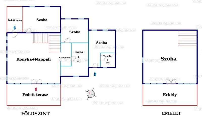 Ingatlan, eladó ház, Kunfehértó, Harcsa utca 9., 100 m2