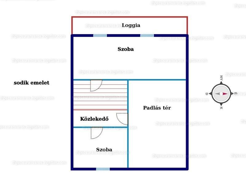 Ingatlan, eladó ház, Egerág, Ipolyság utca, 182 m2