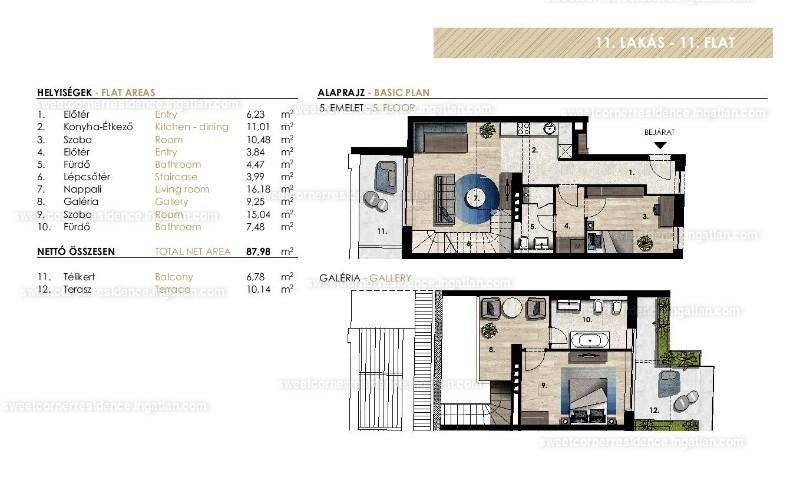 Sweet Corner Residence - 4 szoba erkéllyel