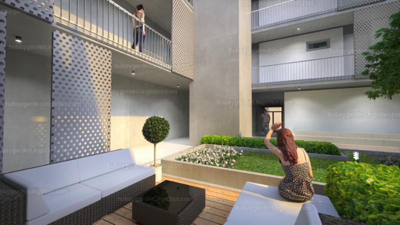 Hubay Garden - 1 szoba kertkapcsolattal