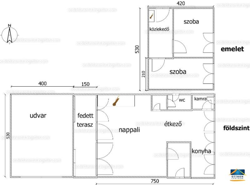 Ingatlan, eladó ház, Harkány, Bartók Béla utca 19/C, 60 m2
