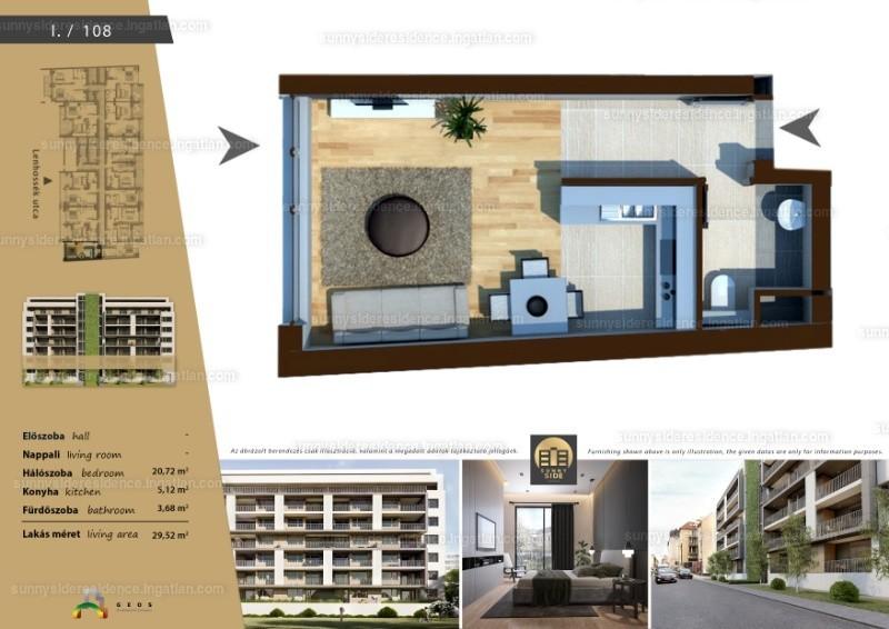 Sunny Side Residence - 1 szoba