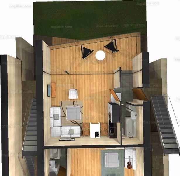 Pelso Bay Alsóörs - 3 szoba erkéllyel