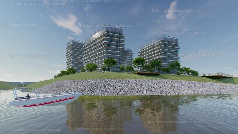 Kék-Duna Rezidencia - 3 szoba erkéllyel