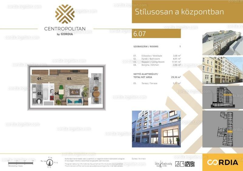 Centropolitan by Cordia - 1 szoba erkéllyel