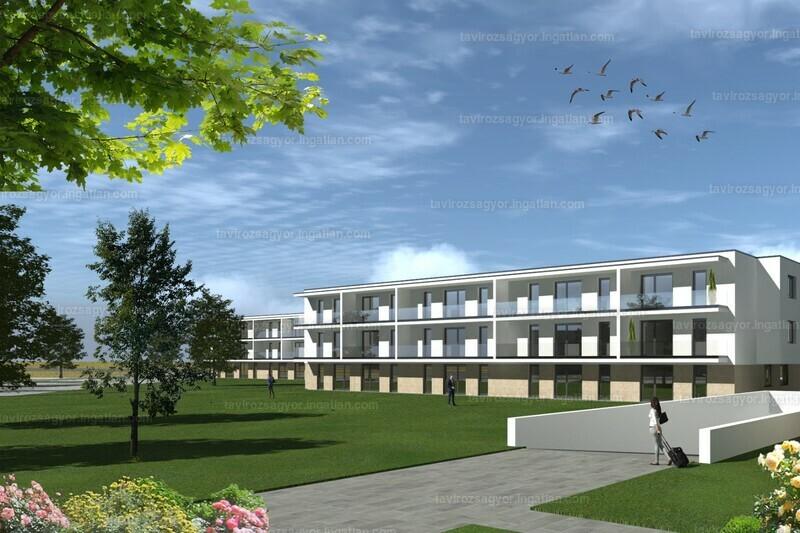 Tavirózsa Lakópark VI. ütem - 3 szoba erkéllyel