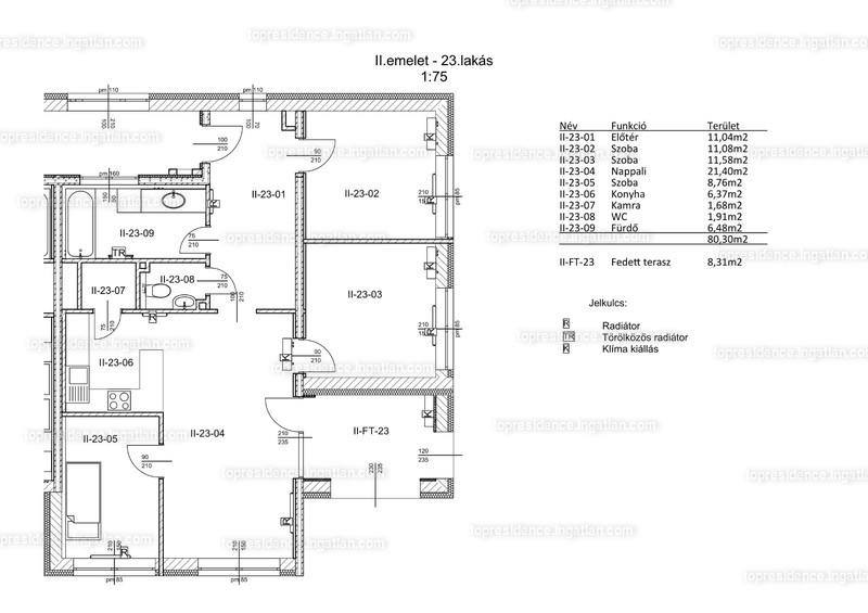 Top Residence Lakópark Veszprém - 4 szoba erkéllyel