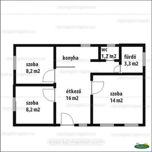 Ingatlan, eladó ház, Basal, Kaposvári utca 9., 54 m2