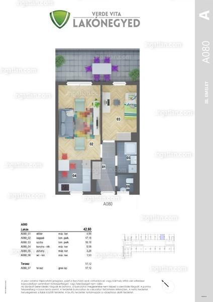 Verde Vita Vác - 2 szoba erkéllyel