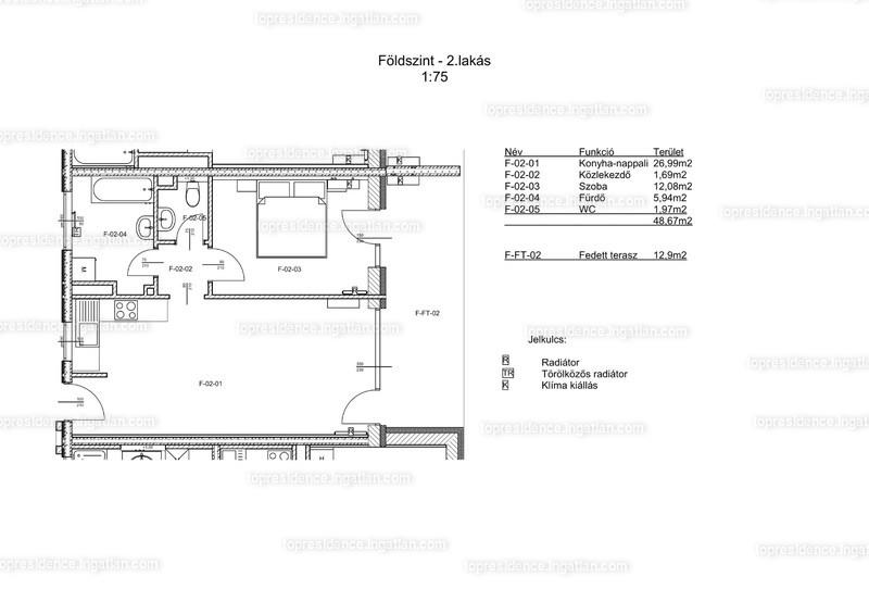 Top Residence Lakópark Veszprém - 2 szoba kertkapcsolattal