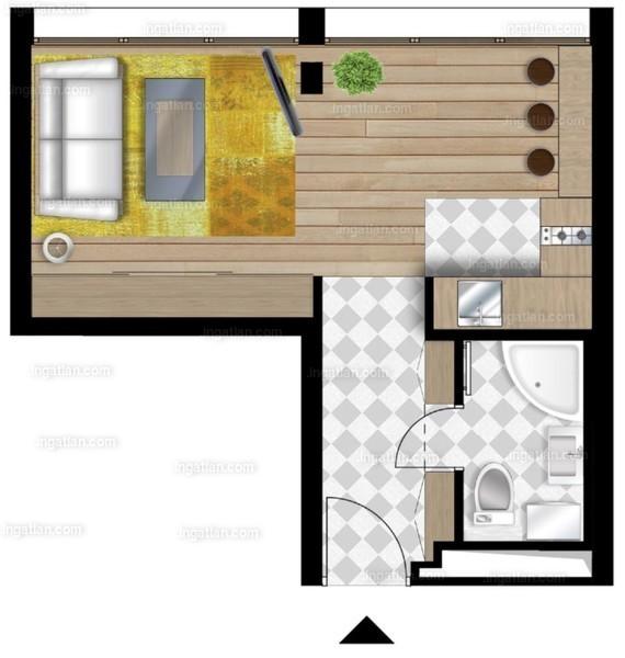 UniparkBuda - 1 szoba