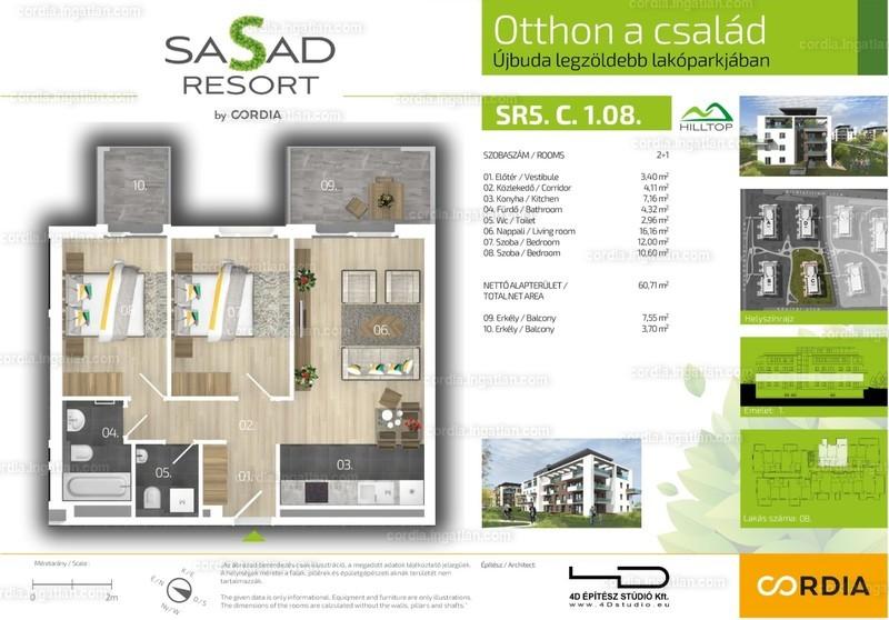 Sasad Resort Hilltop by Cordia - 3 szoba erkéllyel