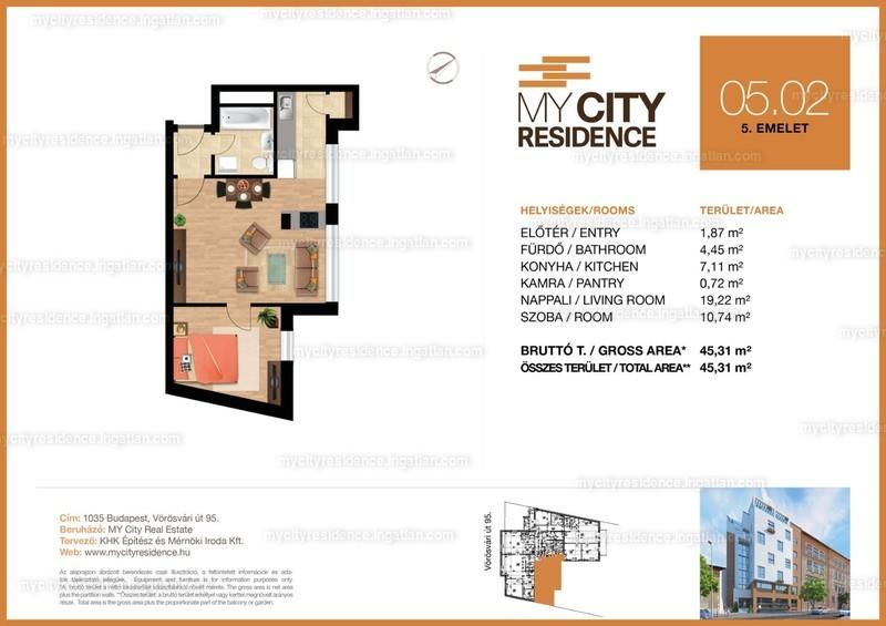 MyCity Residence - 2 szoba
