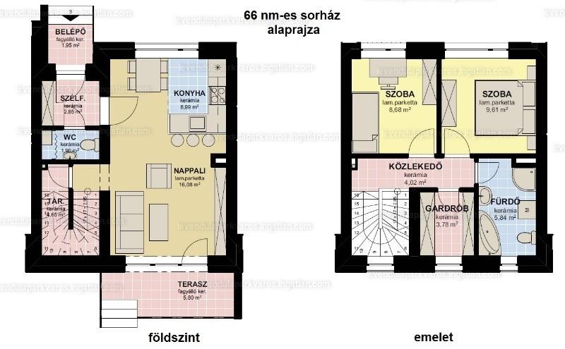 Levendula Parkváros Győr - 3 szoba