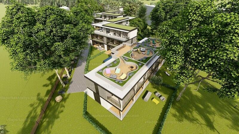 Villapark Akarattya - 4 szoba kertkapcsolattal