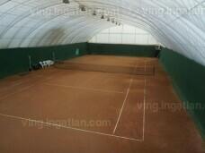 Kiváló befektetés téliesített, dupla teniszpálya!