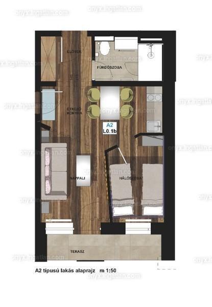 ONYX **** Luxury II. ütem - 4 szoba erkéllyel