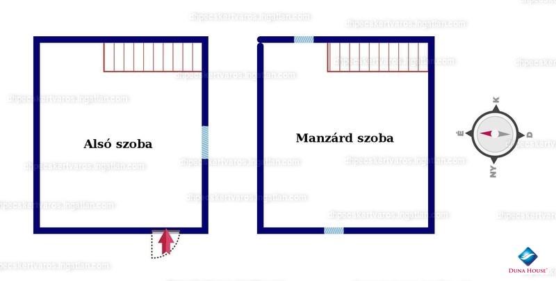 Ingatlan, eladó ház, Cserdi, Baranya , 20 m2