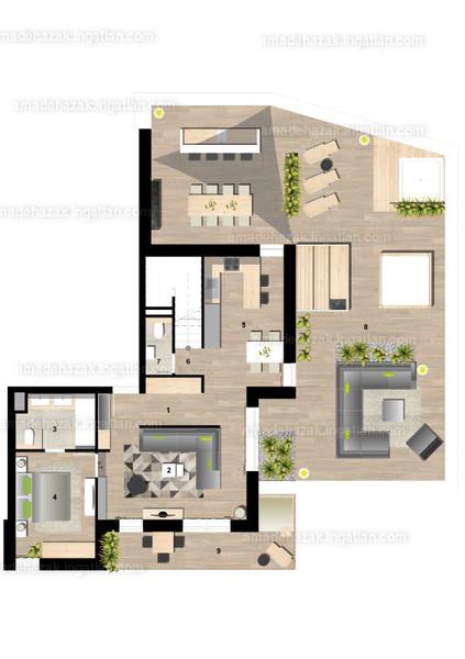 Amadé Házak - 5 szoba erkéllyel