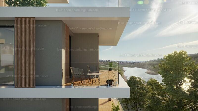 Lake11 Home&Park - 4 szoba erkéllyel